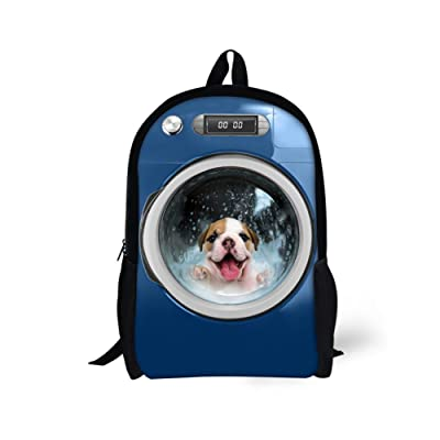 Coloranimal Cat Dog Printing Children School Backpacks Cute Kids Bookbags well-wreapped