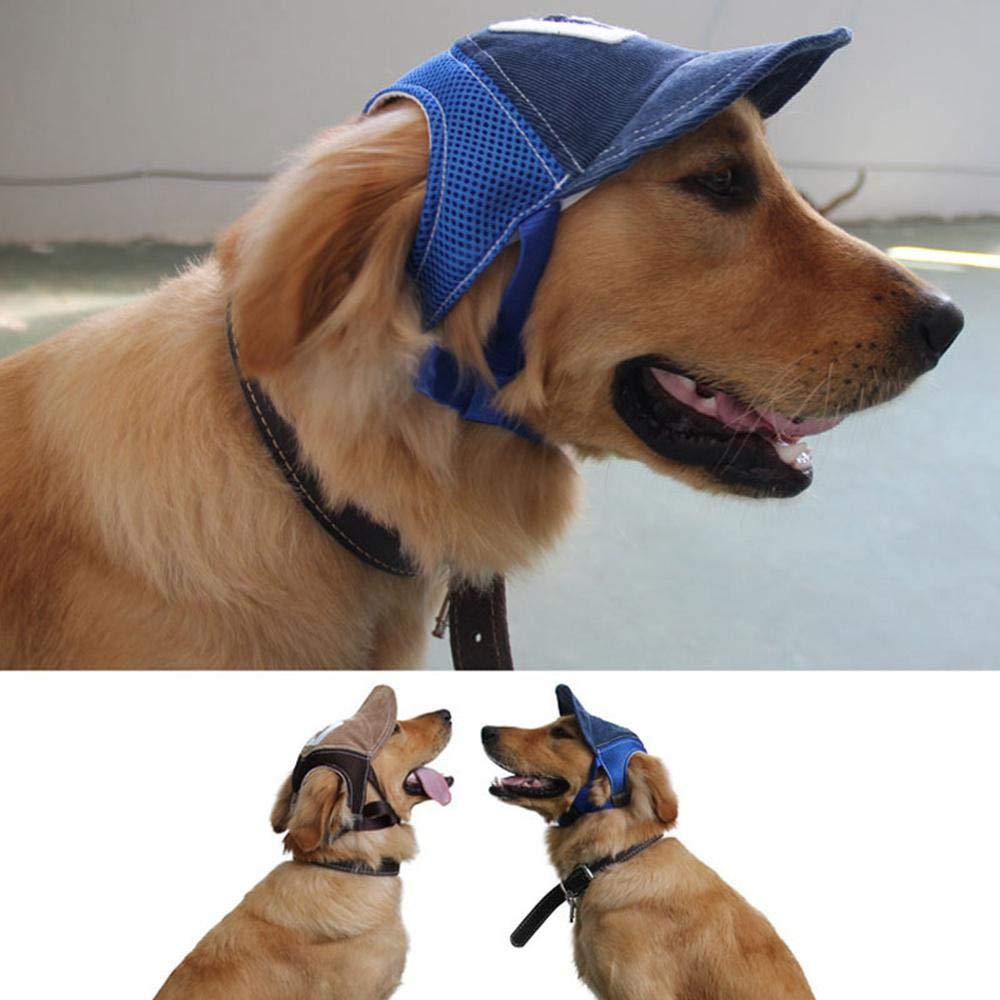 Foonee - Gorra de béisbol para Perro, Transpirable, con Visera de ...