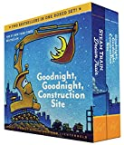 good night sleep - Goodnight, Goodnight, Construction Site and Steam Train, Dream Train Board Books Boxed Set
