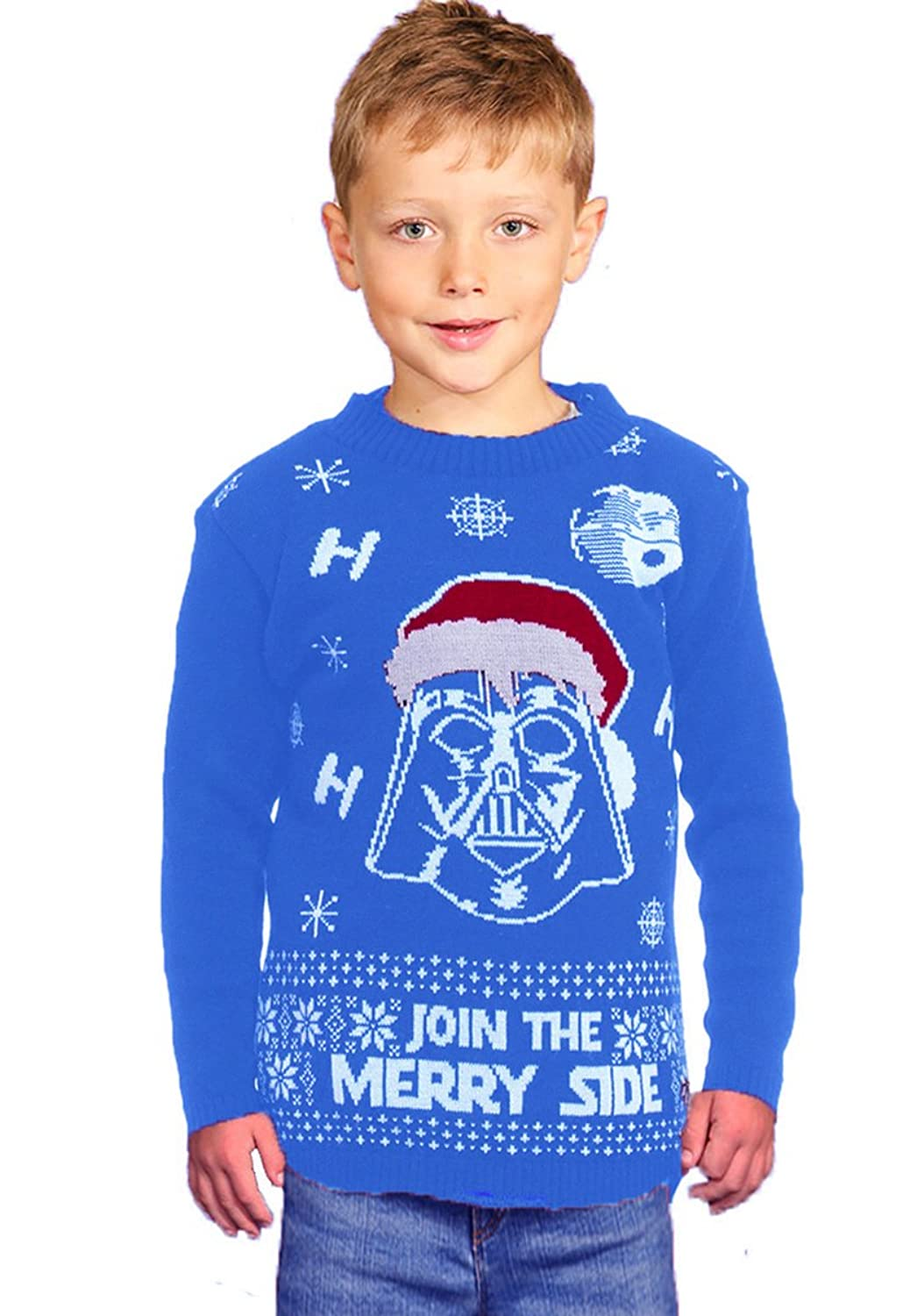 wholesale Star Wars Kids Christmas Jumper Knitted Sweater-Children Pullover-Unisex Jumper hot sale