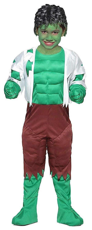 pequeños monelli Traje Hulk Niño Vestido Niño Hombre Verde ...