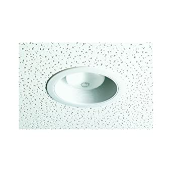 thomas lighting trm30w stepped baffle recessed lighting trim
