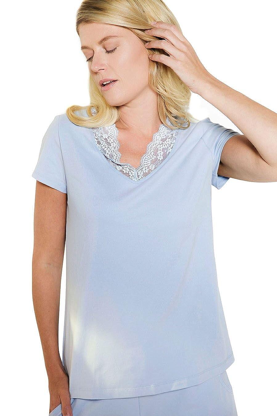 Lusome Everyday Womens Moisture Wicking Nina Sleep T-Shirt Size XS-XL