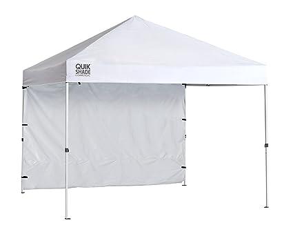 Quik Shade Commercial 10 x 10 ft. Straight Leg Canopy White (1 Unit  sc 1 st  Amazon.com & Amazon.com : Quik Shade Commercial 10 x 10 ft. Straight Leg Canopy ...