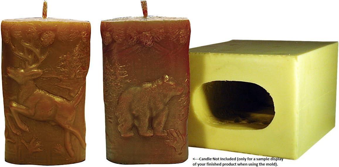 Mann Lake Wilderness Pillar Candle Mold