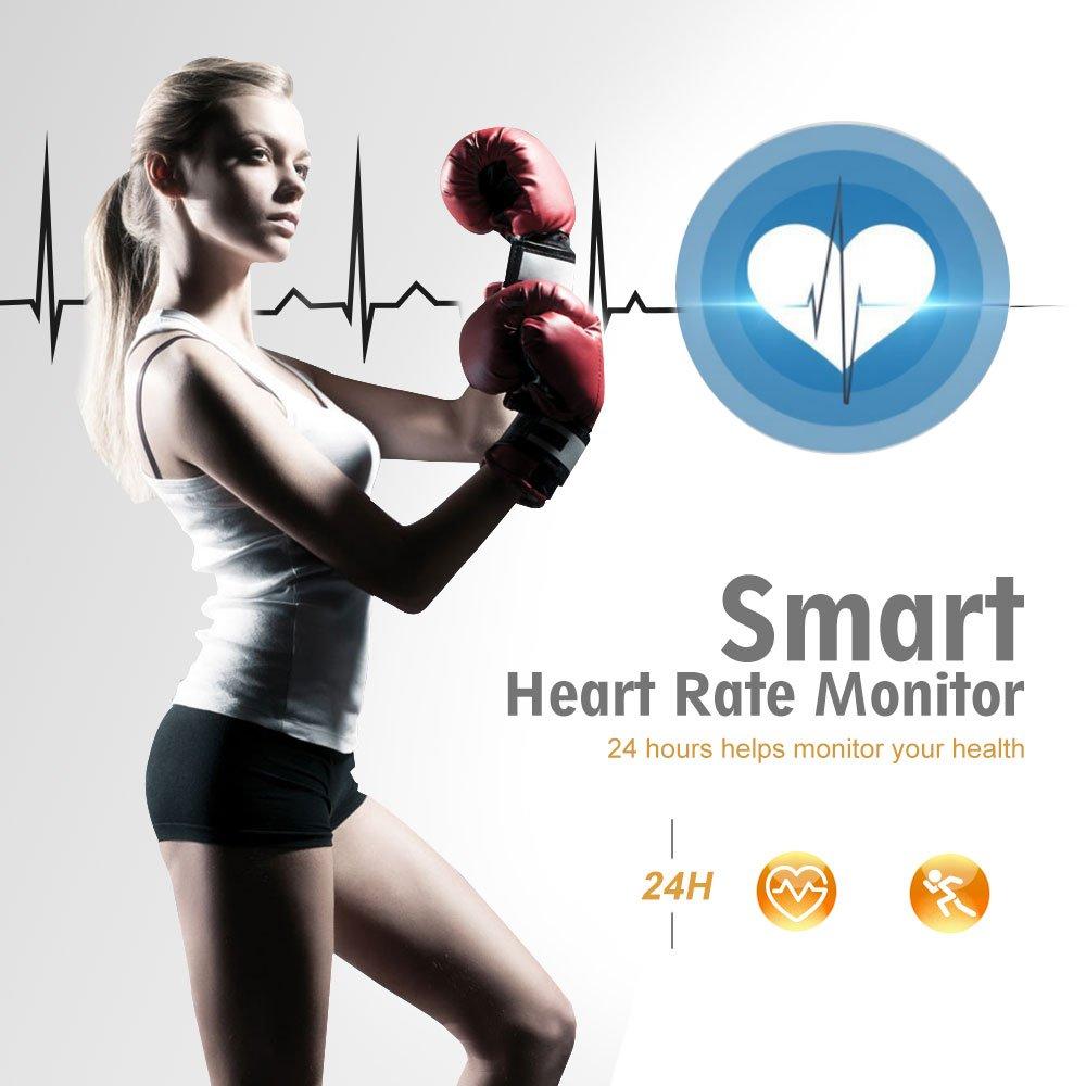Fitness Tracker Women Sport Smart Watch Band Heartratenotesforbasiccircuittrainingjpg Bracelet Heart Rate Monitor Swimming Waterproof Wristband