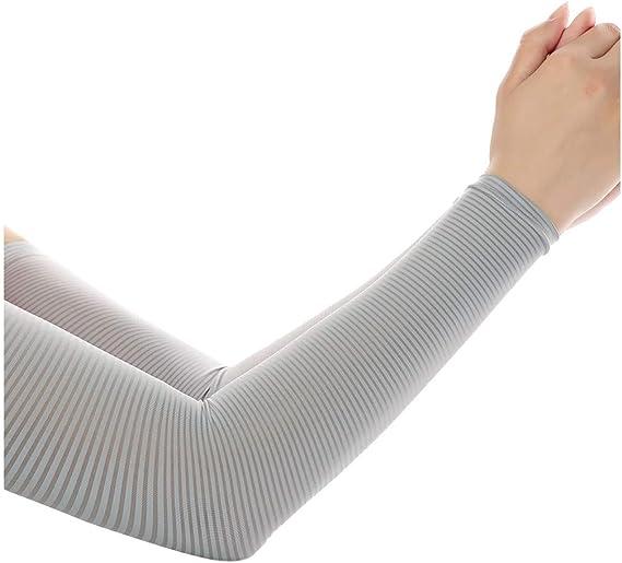 4 Paar Arm Sleeves Armwärmer Ärmlinge Radsport Ärmel UV Schutz Unisex