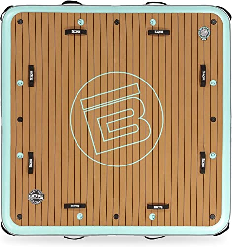 Inflatable Floating Dock (Island, Raft, Platform) for Pool, Beach, Lake [Bote] detail review