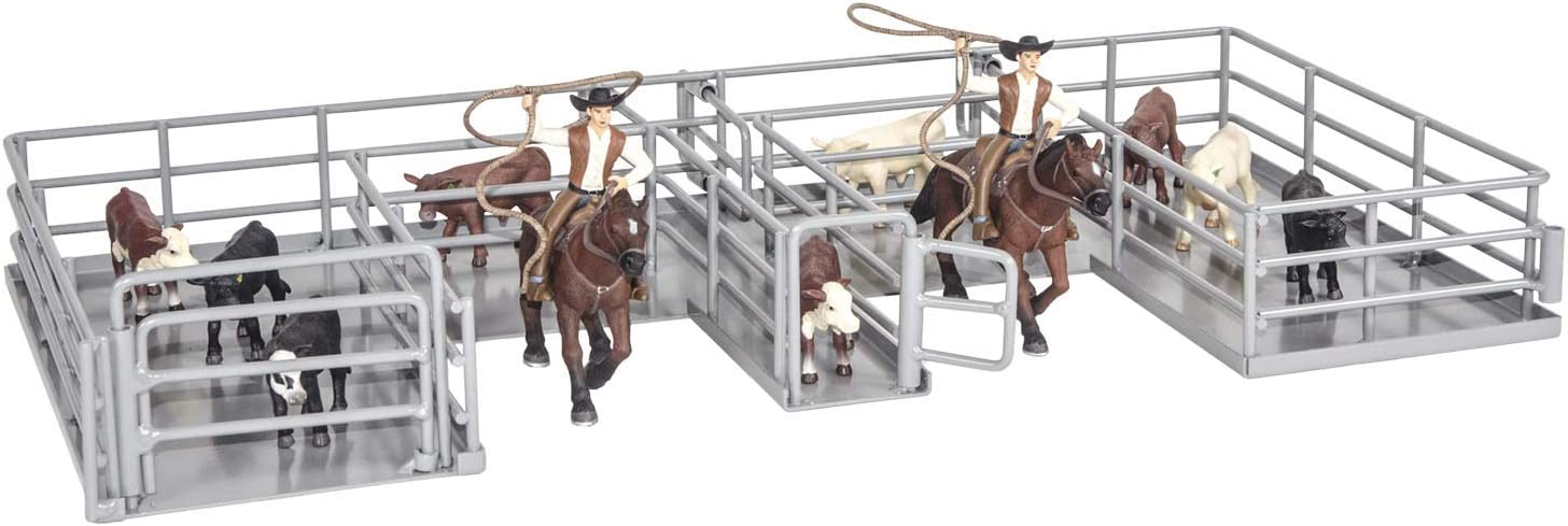 Little Buster Toys Calf Roping Box, 1/16th Scale
