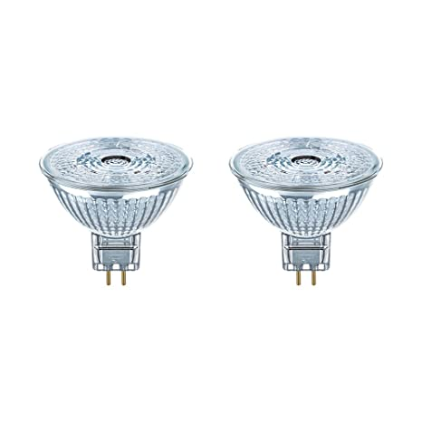 Osram Star Mr16 Bombilla Led GU5.3, 4.6 W, Blanco Cálido, 4.6