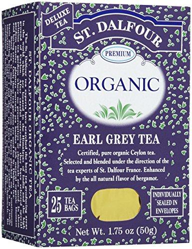 St. Dalfour Organic French Tea - Earl Grey - 25 ct