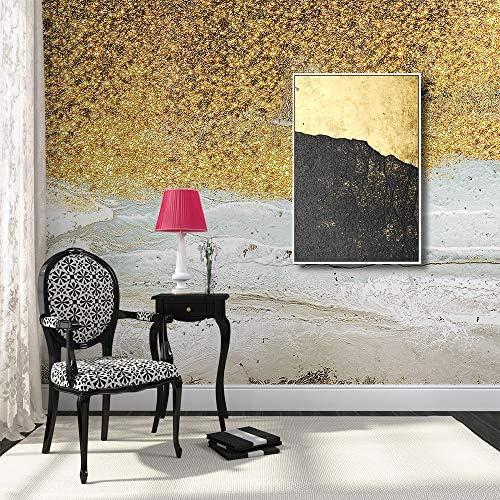 Framed for Living Room Bedroom Golden Beach Theme for