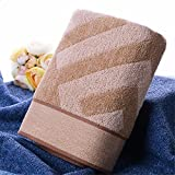 HOMEE Pure Cotton Jacquard Water Absorbent Soft Towel,A