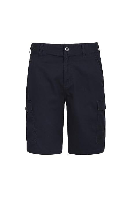 74fc9e4a4d41 Mountain Warehouse Lakeside Mens Shorts - 100% Durable Twill Cotton Cargo  Shorts