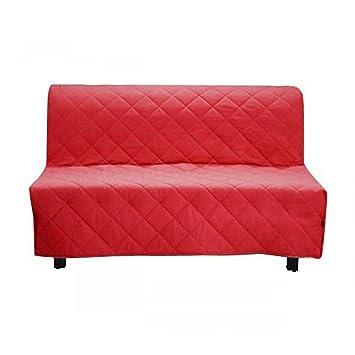 Housse De Clic Clac Matelassée Rouge 140x190 Amazon Fr