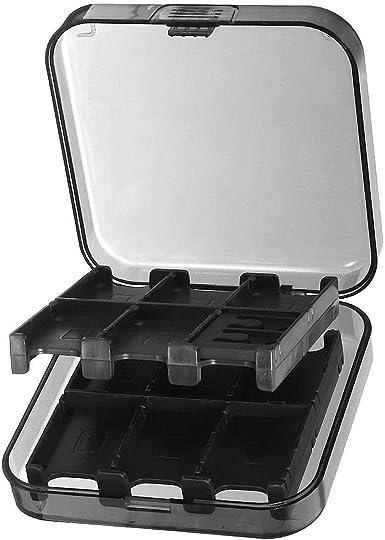 Caja de Almacenamiento para Tarjeta SD Negra, Universal MemoryPack ...