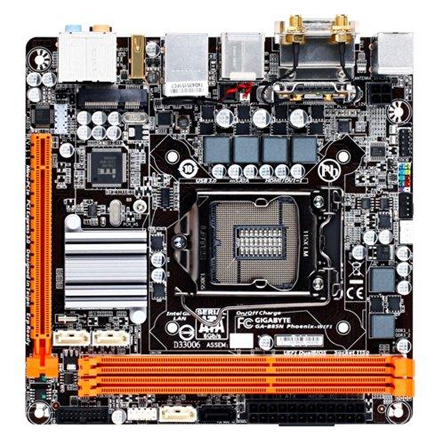 Gigabyte LGA 1150 B85 Bluetooth Wi-Fi HDMI SATA 6Gb/s USB 3.0 Mini ITX Intel DDR3 1600 Motherboards GA-B85N Phoenix-WIFI