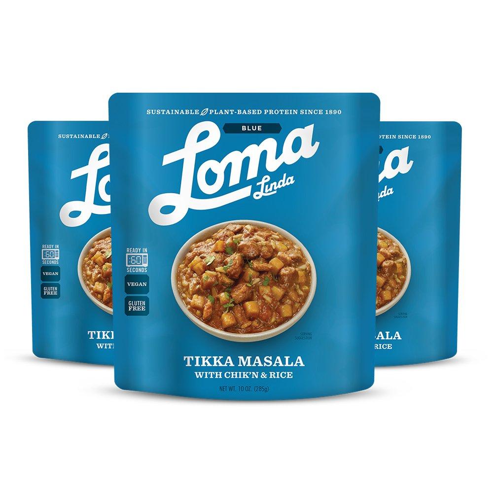 Amazon.com : Loma Linda Blue - Vegan Complete Meal Solution - Heat ...