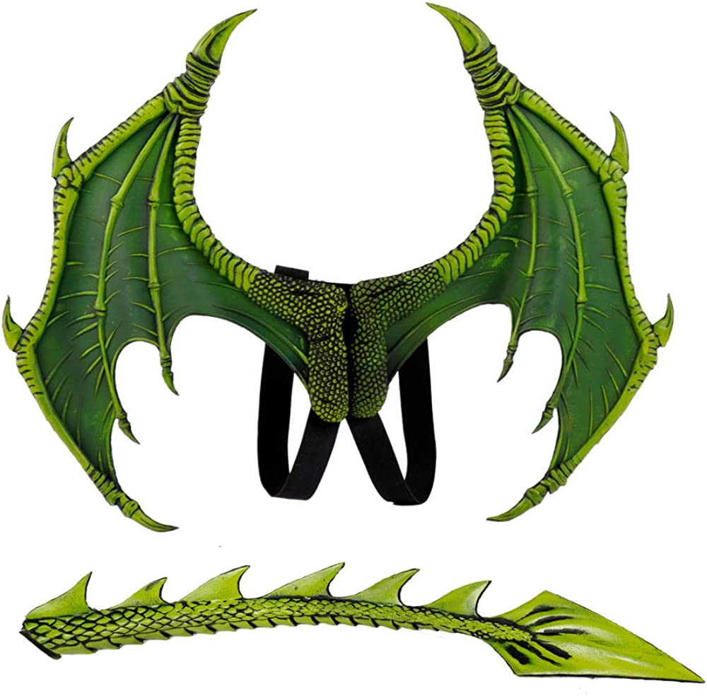 Himine Dragon Wings Props Cosplay Wing with Tail