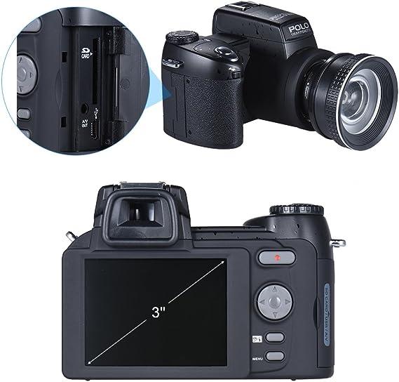 Andoer Polo Sharpshots Cámara Digital AF 33MP 1080 30fps FHD ...