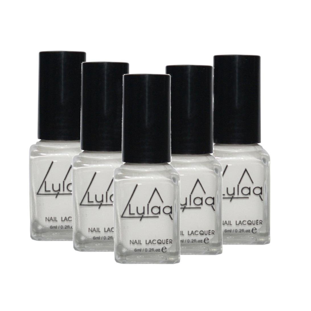 Alonea lulaa 5pcs/Set Peel Off Liquid Tape Latex Tape Peel Off Base Coat Nail Art Liquid Palisade