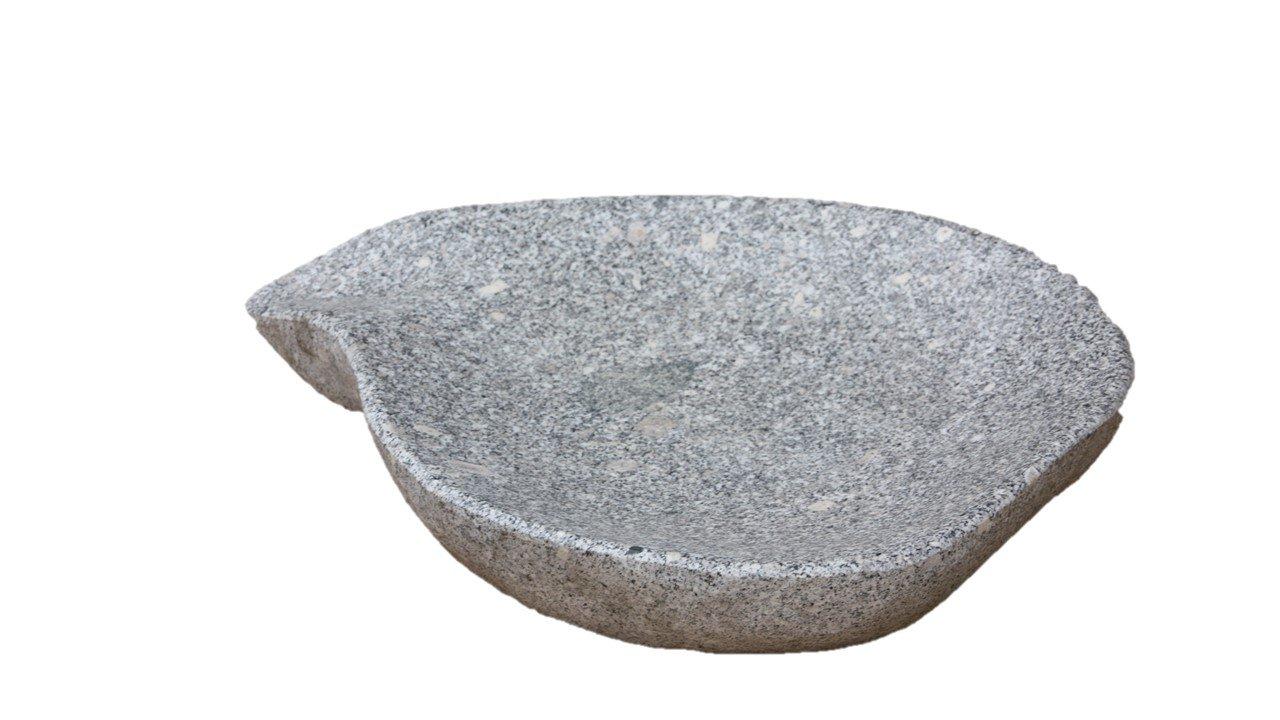 Vogeltränke Blatt, Tränke aus Granit, für Garten: Amazon.de: Garten