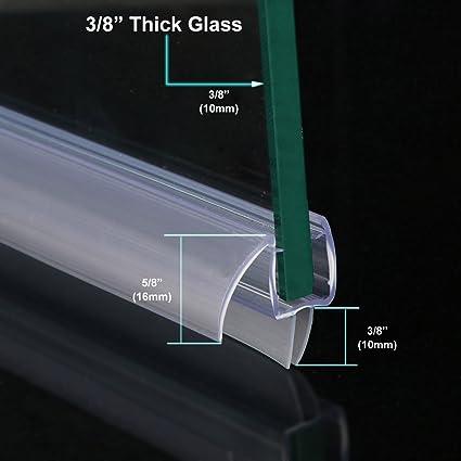 Sunny Shower A309d5 Fit Frameless Glass Shower Door Bottom Seal