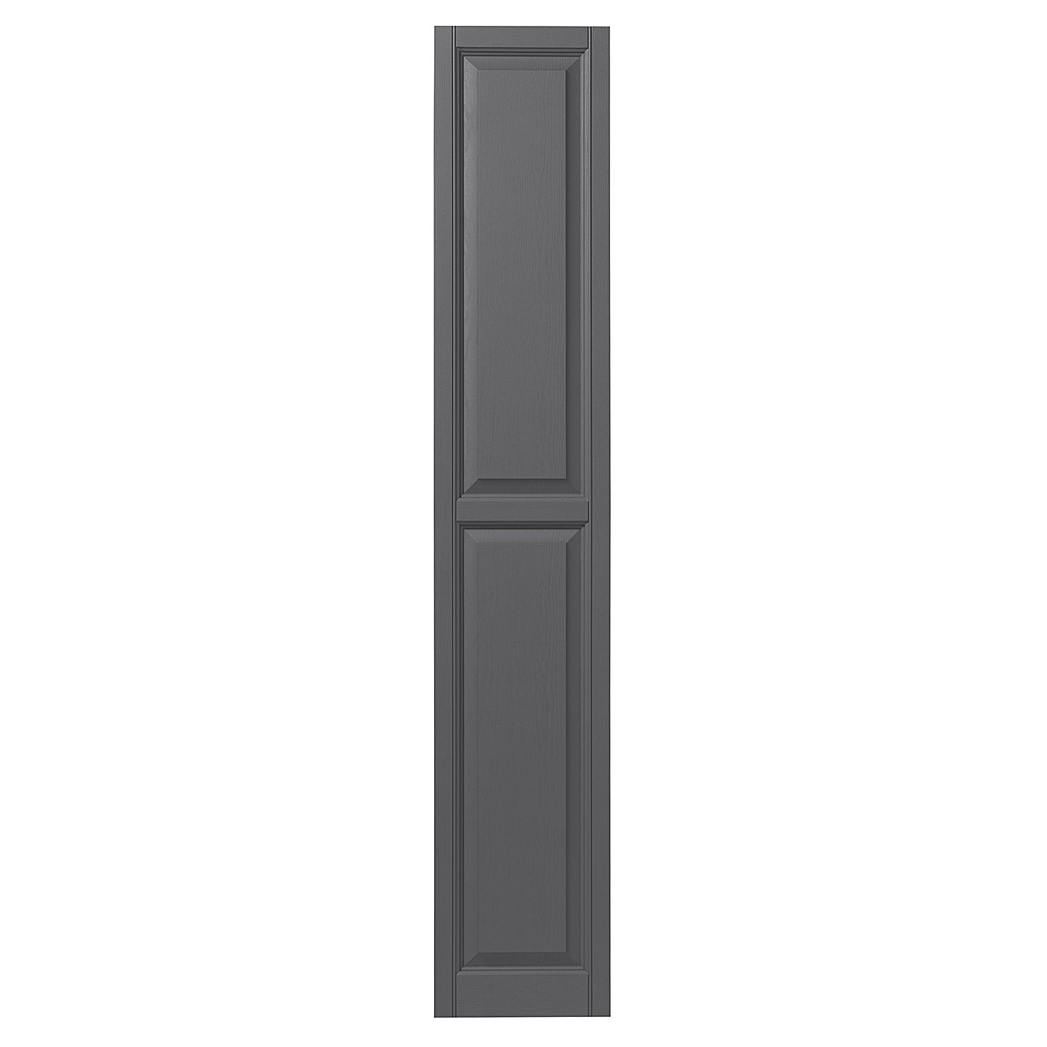 Ply Gem Shutters and Accents VINRP1571 95 Raised Panel Shutter 15 Dark Navy