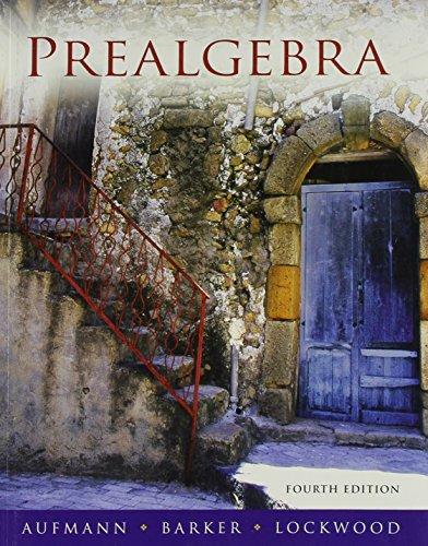 Prealgebra 4th Ed + Smarthinking