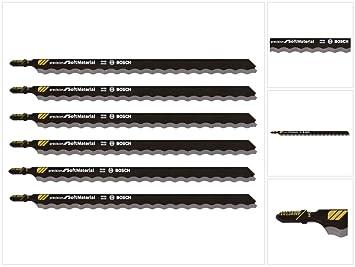 150-2608667396 Bosch T1013AWP 3 Stück Stichsägeblätter HCS 250mm für GST 140