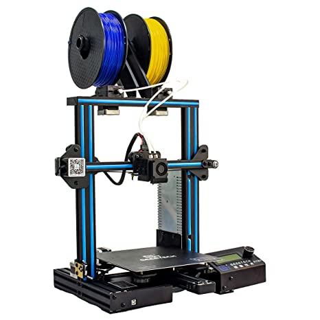 Geeetech A10M Impresora 3d con Mix de color de impresión, Dual de ...