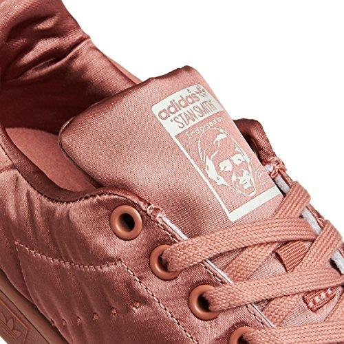 adidas Stan Smith W Bz0395, Chaussures de Fitness Femme Rose (Rosnat / Rosnat / Rosnat)