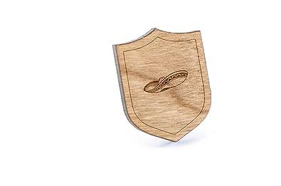 Mariachi Sombrero - Pin de madera para solapa y corbata rústico y ...
