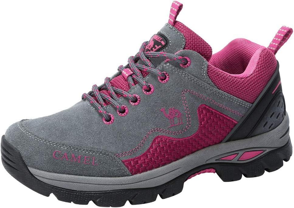CAMEL CROWN - Zapatillas de Senderismo para Mujer, Antideslizantes ...