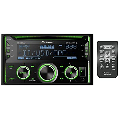 Pioneer FH-S720BS Double DIN CD Stereo Receiver with MIXTRAX, Built-in Bluetooth, and SiriusXM-Ready: Electronics