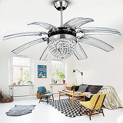 Crystal ceiling fan,Tropicalfan