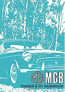 MGB US Official Driver/'s Handbook 1968 1969 OWNER/'S GLOVEBOX GUIDE new