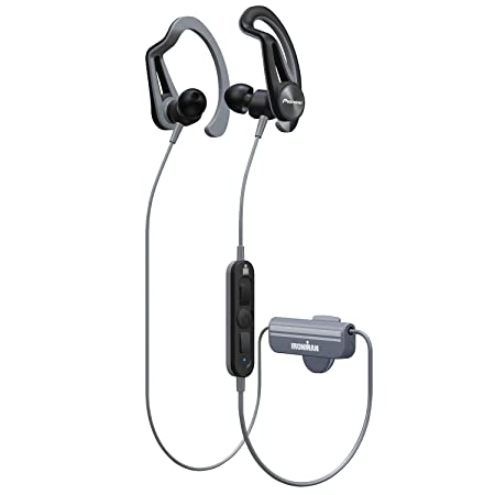 Amazon.com: Pioneer IRONMAN Santa Cruz E7 Wireless Sports Earphones - Black/Gray: Electronics