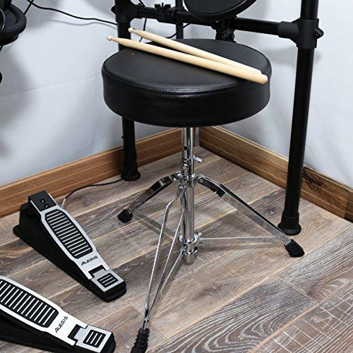 Alesis-Seven-Piece-Electronic-Drum-Burst-Kit-with-DM6-Drum-Module-Includes-Drum-Throne-Drum-Sticks-and-FREE-Headphones