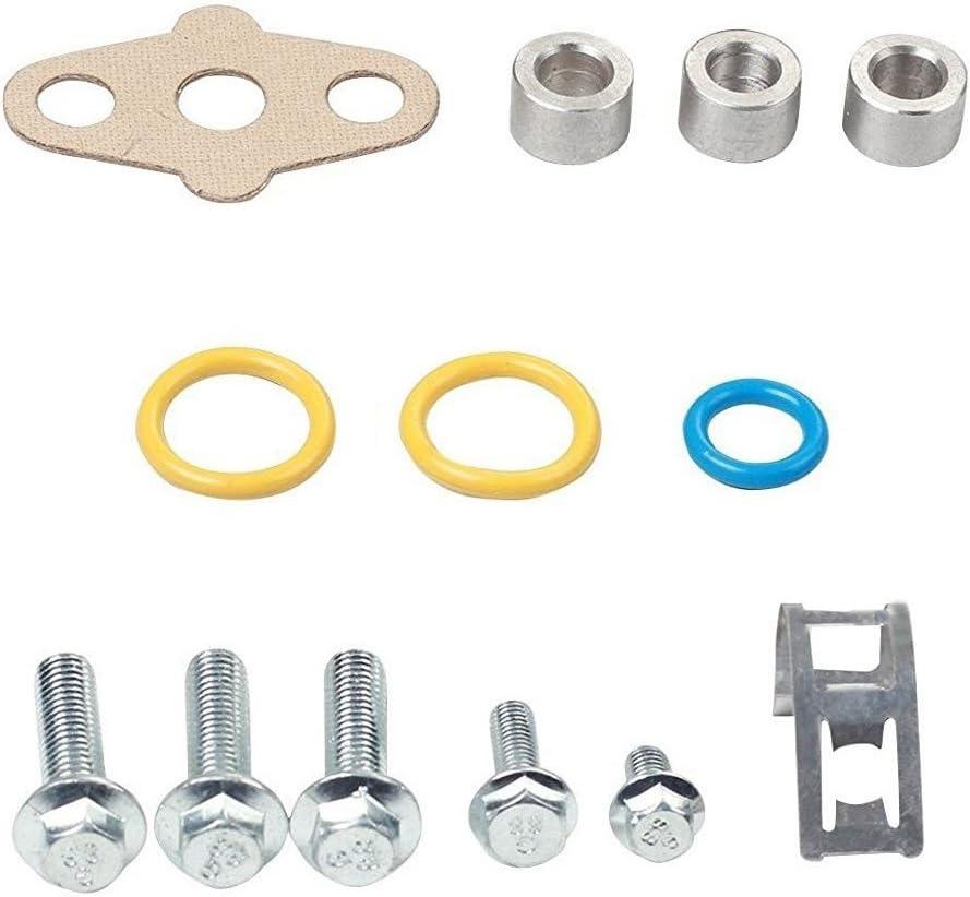 Intake Manifold Gasket Set w//Seals /& Hardware FITS for 6.0L Powerstroke Turbo Diesel