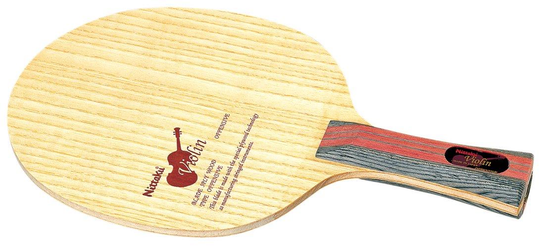 ニッタク(Nittaku) 卓球 ラケット バイオリン シェークハンド 攻撃用 5枚合板 B000ARSI4S  フレア