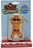 Crooked Christmas Ornament- Gingerbread Tan