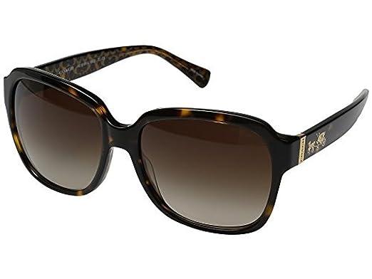 3635d8244046 Amazon.com: COACH Women's 0HC8185 Dark Tortoise Sunglasses: Clothing