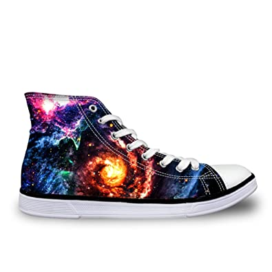 115440e6f1dbf Amazon.com | ArtistMixWay Fashion Galaxy Print Men's & Women's ...