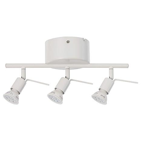 IKEA 802.626.63 Tross - Lámpara de techo (3 focos), color ...