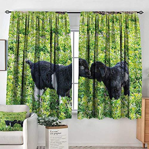 RenteriaDecor Animal,Backout Curtains Nature Hills Garden 52