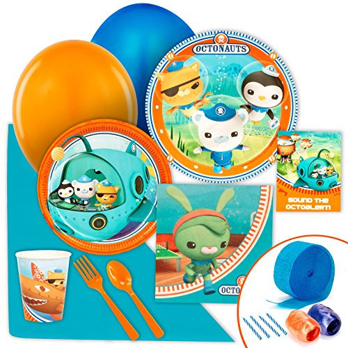 BirthdayExpress The Octonauts Party Supplies - Value Party