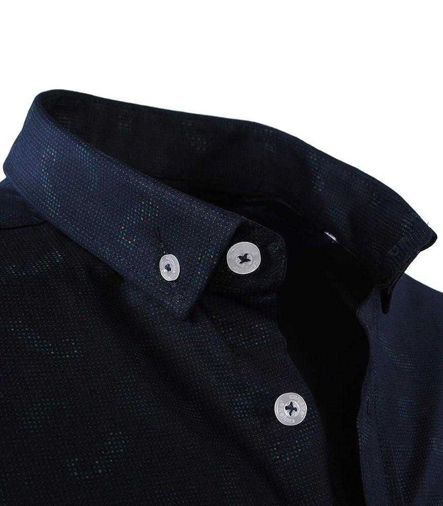 0b534e62d101 Carisma - Chemise Italienne pour Homme Chemise 8410 Bleu foncé - L - Bleu   Amazon.fr  Vêtements et accessoires