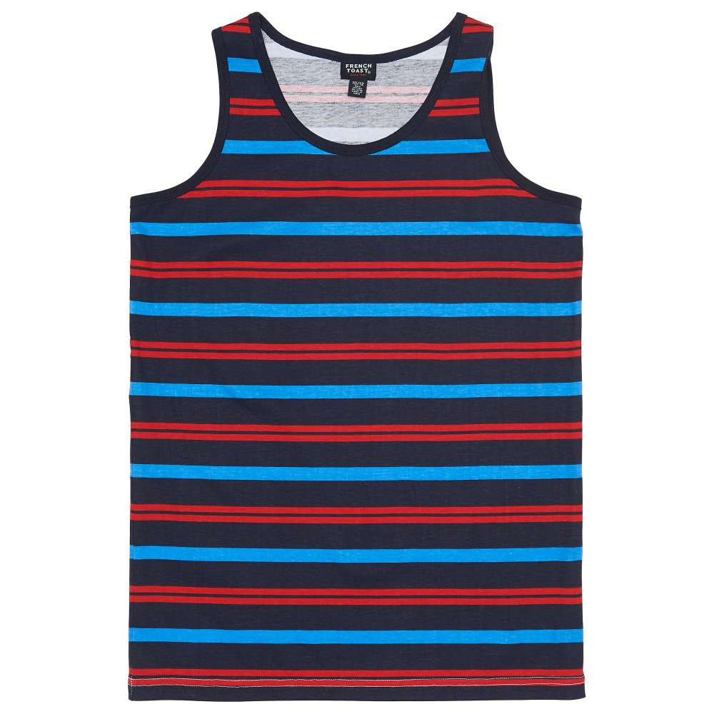 French Toast Boys' Striped Tank Top