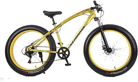 DRAKE18 Bici Gorda, Bicicleta de montaña a Campo traviesa de 26 ...